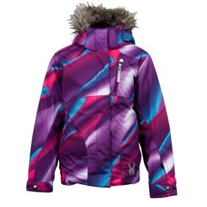 Spyder Lola ski girls jacket size 12